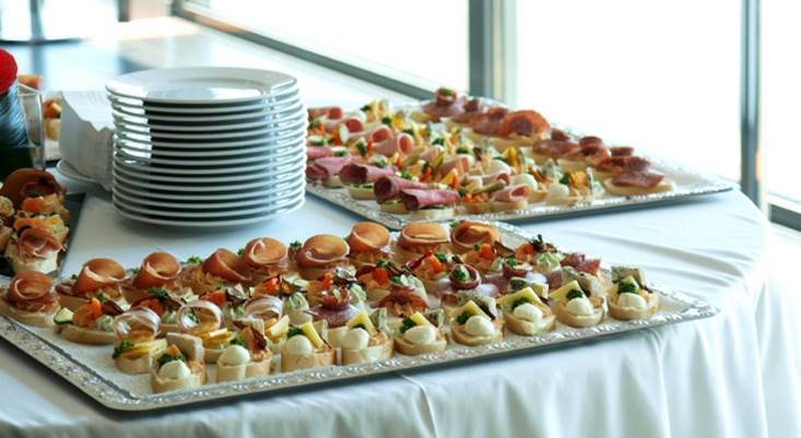 Catering-hapjes