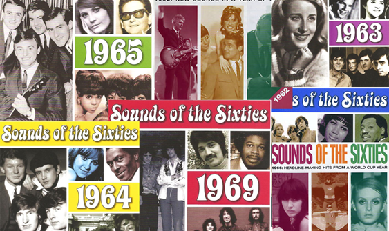 Herinnering Sound of the Sixties!